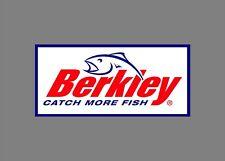 Berkley decals stickers bass boat tournament sponsor fishing rod reel