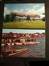Lot of 2 St. Andrews New Brunswick RPPC photo Postcards Courtesy of CPR