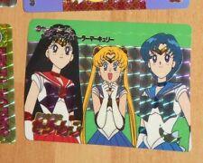 SAILORMOON CARD CARDDASS PRISM CARTE N° 2 ULTRA RARE MADE IN JAPAN 1992 UR NM