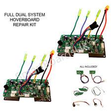 DUAL SYSTEM PCB Paio swegway SMART BOARD Skateboard Circuito Kit di riparazione UK