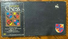 1968 E S Lowe Magnetic Chess Set Staunton Design #815 New York