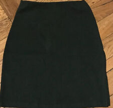 GW SPORT Pull On Moss Green Skirt Cotton Stretch Knee Length Size S