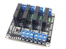 4-Kanal Solid State Relais Modul für Arduino | 5V | 240V 2A | SSR