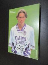 55639 Gernot Plassnegger Casino Salzburg original signierte Autogrammkarte