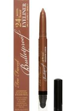 TOO FACED BULLETPROOF EYELINER/SHADE:MINK/FULL SIZE NEW IN BOX