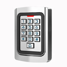 Keypad Entry Door Reader RFID 125Khz EM Card Standalone Access Controller+Track