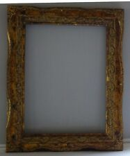 Aimée  Baroque Burnished Antique gold Handmade Picture/art Wood frame 9 x 12 In.