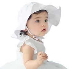 Summer Toddler Infant Kids Sun Cap Outdoor Baby Girls Boys Sun Beach Cotton Hat
