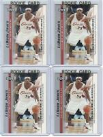 x4 LEBRON JAMES 2003-04 Upper Deck Rookie Card lot/set Mint! Gold Top Loader #19