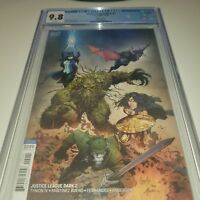 Justice League Dark #2 CGC 9.8 First Full Appearance of the Upside Down Man