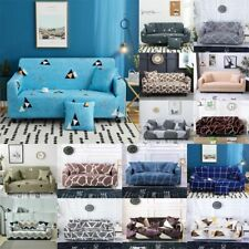 Printed Slipcover Sofa Covers Spandex Stretch Couch Covers Furniture Protector