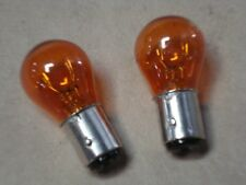1968 Ford Mustang 1178NA Amber Side Marker Light Turn Signal Bulbs Lamps 1 pair