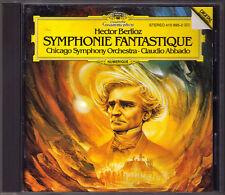 Claudio ABBADO: BERLIOZ Symphonie Fantastique DG 1984 PDO CD Chicago Symphony Or