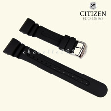 CITIZEN 59-T50321 59-T50343 BLACK RUBBER WATCH BAND FOR PROMASTER JV0030-01E