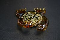 Murano Italian Art Glass -Sculpture or Figure - Amazing CRAB with CLAWS UP