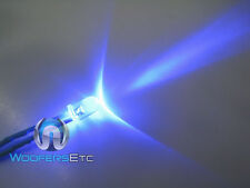 BLUE LED SUPER BRIGHT LASER 12 VOLT CAR ALARM LIGHT BLINKING THEFT DETERRENT