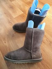 UGG Grey Sheepskin, Women Winter Boots Size Uk 4.5
