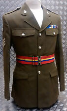 Genuine British Army Royal Military Academy Of Sandhurst Stable Belt (RMAS)