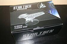 Eaglemoss Collections STAR TREK DISCOVERY Klingon Cleave Ship NEW magazine