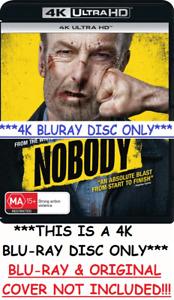 Nobody 4K Bluray DISC ONLY* Universal Marvel Disney John Wick Game sexy wwe aew