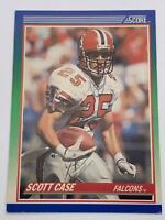 American Football Card💎Scott Case - Falcons💎1990 Score Card 104🌟CB #25🌟