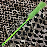 NEW Exalt Paintball Barrel Maid Swab Squeegee Folding - Solid Lime