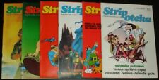 Lord of the Rings / full set of 6 Stripoteka / Yugoslavia 1981 / Tolkien Bermejo