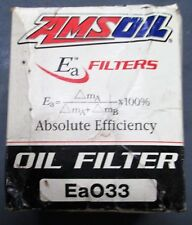 Amsoil NEW Oil Filter Ea033 from Storage in Box as Shown