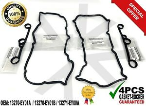 NEW INFINITI Valve Cover Gasket Set 13270EY01A 13270EY01B G37 QX50 QX70 370Z