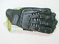 Valken V-Tac Black Tactical Full Finger Paintball Gloves X-Large Xl New