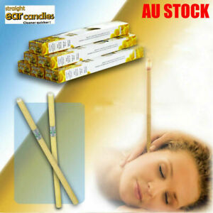 2-20 Pcs Ear Candling Candles Natural Beeswax Excellent Quality Wax - NEW 2021