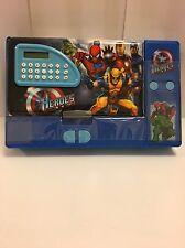 MARVEL Super Hero's Astuccio, FERMO Box per Bambini, B-day/X-Mas Regalo