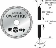 LOCKSMITH Key Machine Cutting Wheel by HPC #CW-41HQC Cutter - USA Made - CARBIDE