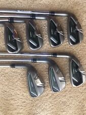 Left Handed Taylormade RBZ Rocketballz Irons 4-PW Regular Flex Steel Shafts