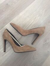 High (3 in. to 4.5 in.) Suede Solid Stilettos Heels for Women