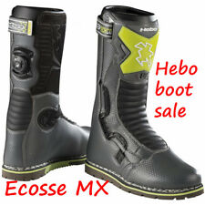 Hebo Tech Comp Trials Boots Grey Green Black Euro 44 UK 9.5 SALE HUGE SAVING
