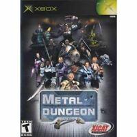 Metal Dungeon - Original Microsoft Xbox Game