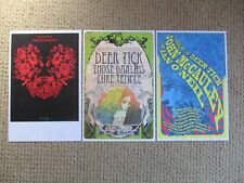 Lot of 3 Deer Tick Posters Brand New Rare Promo Concert Flyer born on flag day