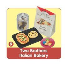 "Re-Ment ""Bread & Butter"" #9: Italian Bakery,1:6 Barbie size kitchen food mini"