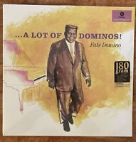 Vinyl New Orleans Rock Fats Domino A Lot Of Dominos New 180g LP Sealed LAST COPY