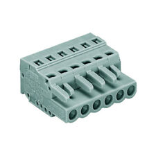 WAGO 231-103/026-000 MCS MIDI 3 Pole 16A 5mm Free Plug Codable Latch Grey