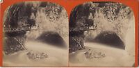 Suisse Vallese Gorges Del Trient Vintage Stereo Albumina