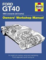 Ford GT40 (Owners Workshop Manual) Buch book Shelby GT 40 Le Mans data numbers