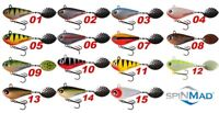 Spinning Tail Spinner JIGMASTER 24g Spinnerbait Lure Pike Perch Fishing SPINMAD