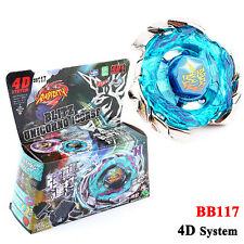 4D Beyblade BB117 Blitz Unicorno Fusion Top Striker Metal Fight Master Launcher