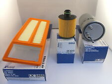 PEUGEOT BIPPER 1.3 HDI Diesel Service Kit Oil Air Fuel Filter 2010-On *OE MAHLE*