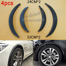 "4pcs 10""13"" Universal Carbon Wrap Wide Body Fender Flares Lip Wheel Wall Panel A"