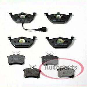 VW Beetle - Forros de Freno Pastillas de Freno Frenos Para Delantero y Trasero