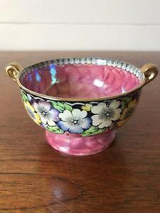 Vintage Maling Ware Porcelain Bowl Art Deco Lustre Ware Newcastle England