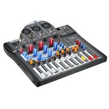 CT80S 8 Channel Live Studio Audio Mixer Console With USB MP3 Inputs LCD F5Z0